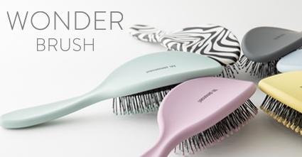 【北欧デザインヘアブラシ】WONDER BRUSH(ワンダーブラシ)が頭皮に心地良く艶髪へ導く!
